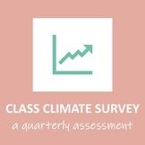 Quarterly Class/School Climate Survey