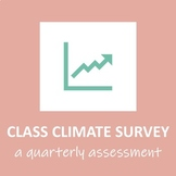 Quarterly Class/School Climate Survey and Tracking Spreadsheet