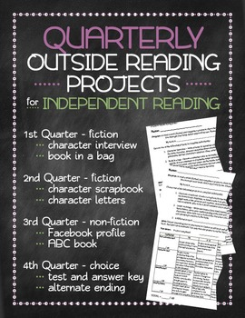Quarterly Outside Reading Projects