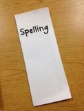 Quarterly Spelling Book