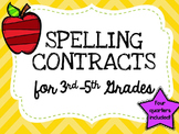 Quarterly Spelling Contracts
