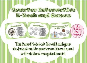 Quarters Interactive E-Book and Games for Smartboard