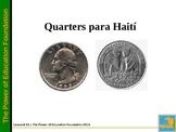 Quarters for Haiti -K-5 Math (Spanish Version)