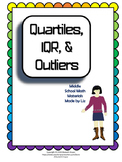 Quartiles, Interquartile Range (IQR), & Outliers