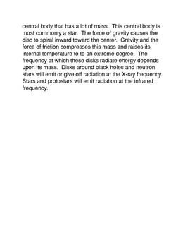 Quasars Common Core Reading and Writing Activity