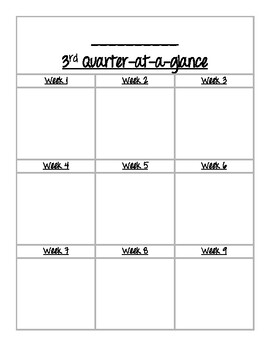 Quater At A Glance