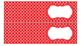 Quatrefoil Labels for 10-Drawer Organizer (Red and Black)