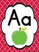 Quatrefoil Alphabet Cards Poster Set