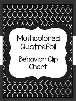 Quatrefoil Behavior Clip Chart