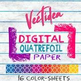 Quatrefoil - Digital Paper