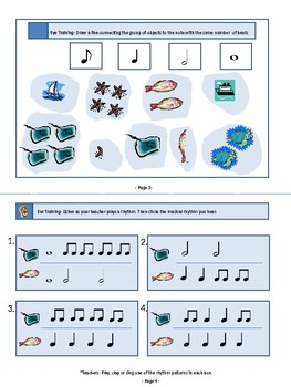 Quaver Music Theory Mini Book (UK term for Eighth Note)