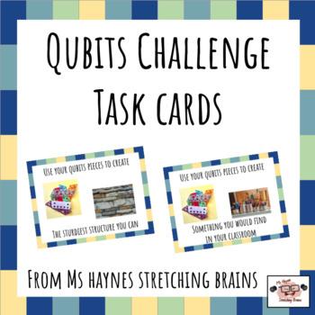 Qubits Task Cards for Makerspace, Morning Work & More
