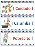 ¡Qué Barbaridad!  Spanish exclamations