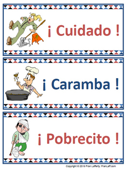 ¡Qué Barbaridad!  Spanish exclamations