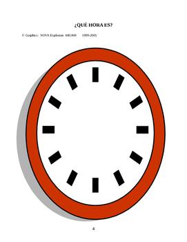Que Hora Es. A Que Hora