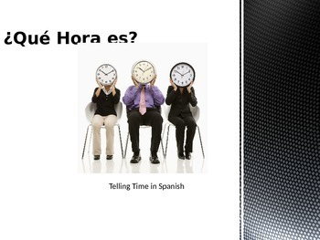 Que Hora Es- Telling Time in Spanish
