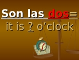 ?Que Hora Es? (What time is it?)