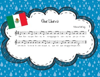 Que Llueva: A Mexican Folk Song