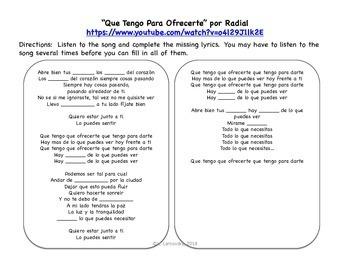 """""""Que Tengo Para Ofrecerte"""" & Spanish Helping Verbs (Querer, Poder, Deber)"""
