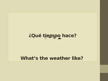 Que Tiempo Hace Bilingual Weather Book