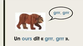 Que disent les animaux - PowerPoint