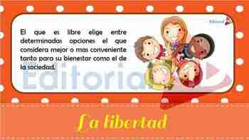 Qué es la Libertad para Niños
