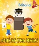 Que es una Meta para Niños MATERIAL PARA IMPRIMIR