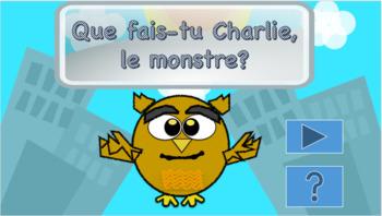 Que fais-tu Charlie, le monstre