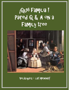 Qué familia Paired Q & A about the family SPANISH