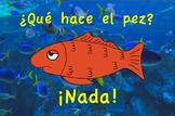 Que hace un Pez Spanish Poster