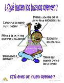 Anchor Chart (Spanish) Que hacen los buenos oyentes?