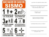 Qué hacer en caso de un sismo