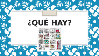 Que hay / Places in a town or city / Mexico City