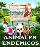 Que son los Animales Endemicos MATERIAL PARA IMPRIMIR