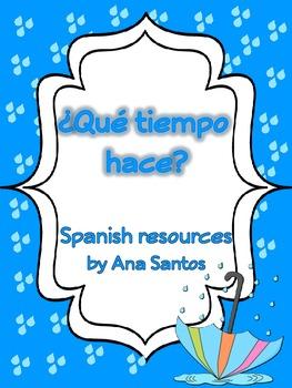 ¿Qué tiempo hace? Spanish resources