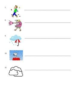 Que tiempo hace hoy? notes