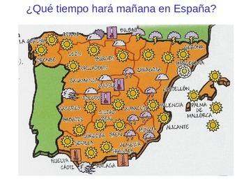 ¿Que tiempo hara mañana en España?