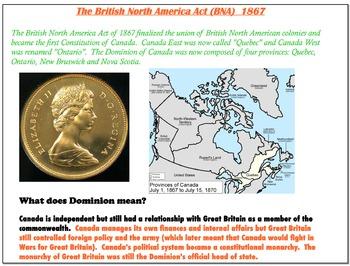 Quebec History - Grade 9 Smartboard - MODULE 4, 5, 6