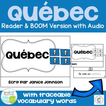 Québec {Quebec, Canada} Reader & Vocab work ~ Simplified f