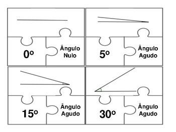 Quebra-cabeça angular