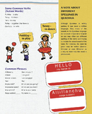 Quechua Language For Kids (Verbs, Common Phrases and Notes on Spelling)