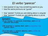 Quedar and Parecer- Verbs like Gustar PowerPoint