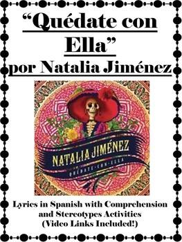 Quedate con Ella Spanish Video Activity