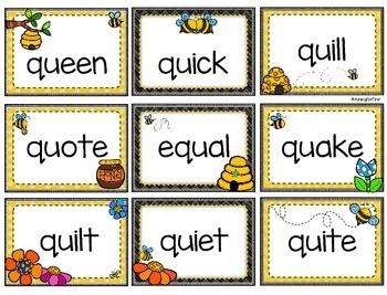 Queen Bee -Words with qu_