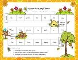 Queen Bee's Long E (e and ee) Literacy Station Game RF.1.3, RF.2.3