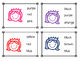 Queen Color Sight Word Clip Cards