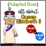 Queen Elizabeth 2 Adapted Book [Level 1 and Level 2]   Fam