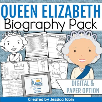 Queen Elizabeth Biography Pack