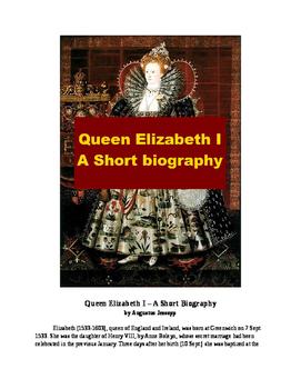 Queen Elizabeth I - A Short Biography