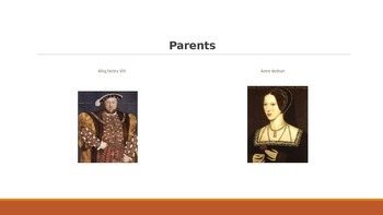 Queen Elizabeth I PowerPoint